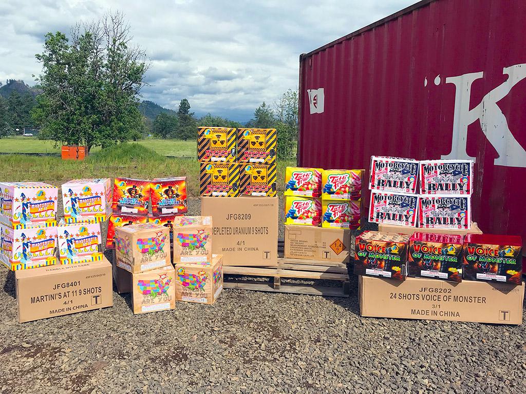 Fireworks Pallet Buy - 500 Gram Multishot